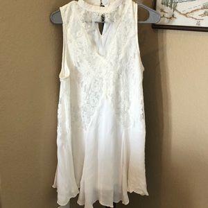 White Boho Dress!